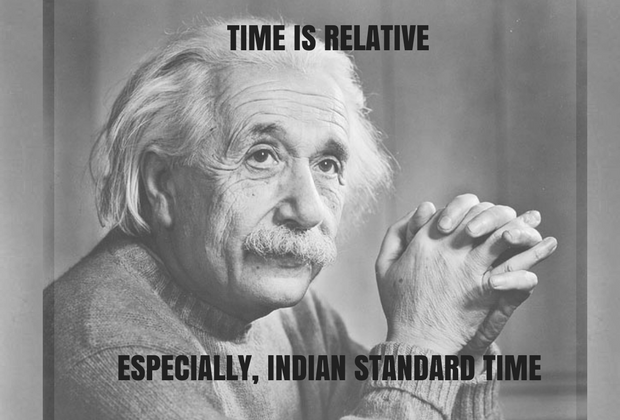TIME IS RELATIVE